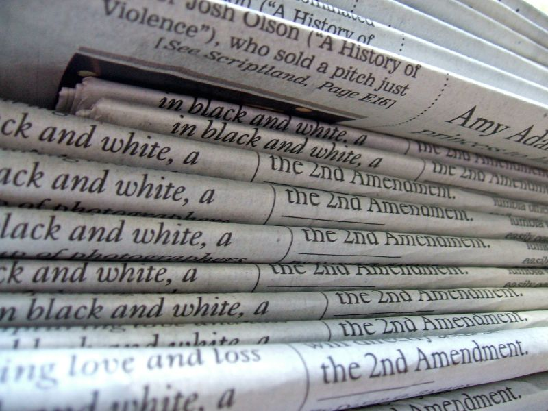 By Daniel R. Blume from Orange County, California, USA - A stack of newspapers, CC BY-SA 2.0, https://commons.wikimedia.org/w/index.php?curid=6699783